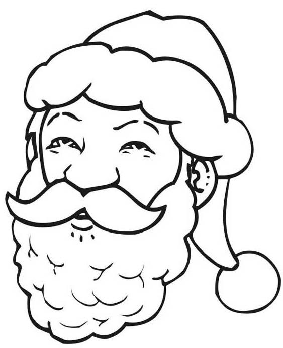Desenhos de papai noel para colorir - Pere noel dessin facile ...