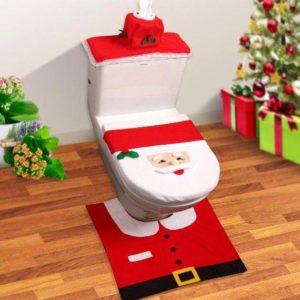 Exemplo de Decoração de natal para banheiros